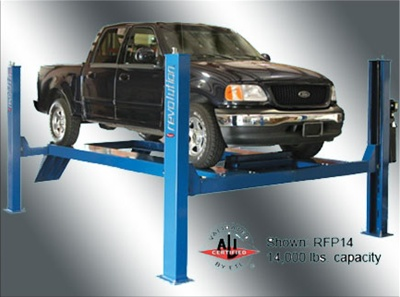 Rotary Revolution RFP14 14,000 lbs. Four-Post Surface Mount Lifts